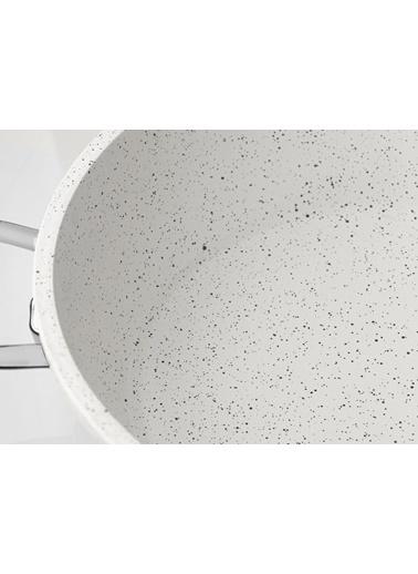 Taç Taç Gravita Döküm Derin Tencere 22 cm Beyaz TAC 3481 Renkli